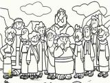 Jesus and the Fisherman Coloring Page Cartoon Coloring Pages Jesus and the Fishermen Coloring Page Simple