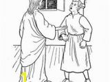 Jesus and Thomas Coloring Pages Luke 24 36 49 John 20 19 29 Acts1 3 Jesus Appeared to the