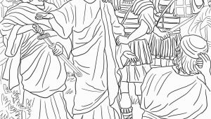 Jesus Arrested In the Garden Of Gethsemane Coloring Page Jesus Arrested In the Garden Of Gethsemane Coloring Page