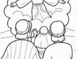 Jesus ascends to Heaven Coloring Page 136 Best ascension Images