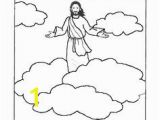 Jesus ascends to Heaven Coloring Page Cristina Gomez Cgomez4493 On Pinterest