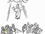 Jesus ascension Coloring Page Easter Bible Coloring Pages Beautiful Jesus ascension Coloring Pages