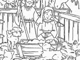 Jesus Born Printable Coloring Pages Jesus Birth Coloring Pages Jesus Birth Coloring Page Eco Coloring