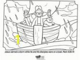 Jesus Calm the Storm Coloring Page 66 Best Calming the Storm Images On Pinterest