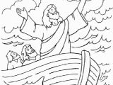 Jesus Calm the Storm Coloring Page Jesus Calms the Storm Coloring Page Free Pages Art within