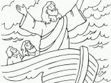 Jesus Calm the Storm Coloring Page Luxury Jesus Calms the Storm Coloring Page Coloring Pages