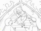 Jesus Calm the Storm Coloring Page Unique Jesus Calms the Storm Coloring Page 95 Free Colouring