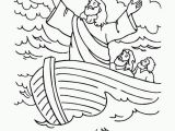 Jesus Calms the Storm Coloring Page Coloring Page for Jesus Calming the Storm Coloring Home