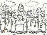 Jesus Coloring Pages Printable Free Cartoon Od Jesus Disciples Coloring Page Coloring Sun