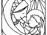 Jesus Coloring Pages Printable Free Line Christmas Coloring Book Printables