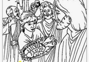 Jesus Feeds 5000 Coloring Page 12 Best atheism Defined Images