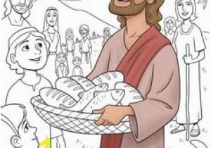 Jesus Feeds 5000 Coloring Page 967 Best Bible Christian theme Images On Pinterest In 2018