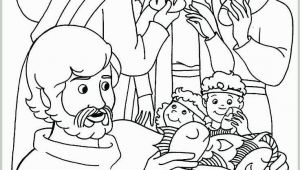 Jesus Feeds 5000 Coloring Page Jesus Feeds 5000 Coloring Page Elegant 47 Best Bible Jesus Feeds