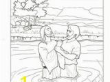 Jesus Getting Baptized Coloring Page 343 Best Baptism Of Jesus Images On Pinterest