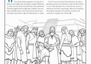 Jesus Getting Baptized Coloring Page Coloring Pages