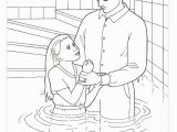 Jesus Getting Baptized Coloring Page Helping Others Coloring Pages