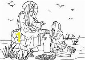 Jesus Goes to Church Coloring Page 327 Best Bible Coloring Pages Images