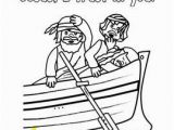 Jesus Goes to Church Coloring Page Free Jesus asleep In the Boat Printable From Charlotte S Clips