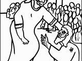 Jesus Heals 10 Lepers Coloring Page Jesus Heals the 10 Lepers Coloring Page Sundayschoolist