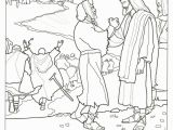 Jesus Heals 10 Lepers Coloring Page Miracles Jesus Coloring Pages at Getdrawings
