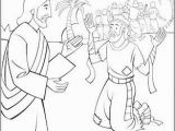 Jesus Heals 10 Lepers Coloring Page Sunday School Coloring Page Jesus and the Ten Lepers