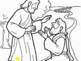 Jesus Heals A Leper Coloring Page 24 Best 10 Lepers Images On Pinterest