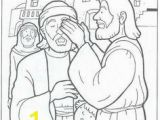 Jesus Heals A Man Born Blind Coloring Page 62 Best Blind Bartimaeus Images