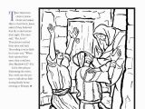 Jesus Heals A Man Born Blind Coloring Page Coloring Pages