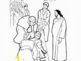 Jesus Heals A Paralytic Coloring Page Jesus Healed the Paralytic Hidden