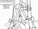 Jesus Heals A Paralytic Coloring Page Jesus Heals Coloring Page New 35 Best Jesus Heals the Paralytic Man