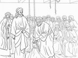 Jesus Heals A Paralyzed Man Coloring Page Jesus Heals the Paralyzed Man Coloring Page From Jesus Mission