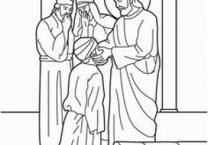 Jesus Heals Coloring Page 358 Best Ss Kc Vbs Coloring Pages Images