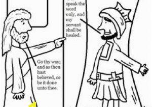 Jesus Heals Coloring Page 40 Best Centurion S Servant Healed Images On Pinterest