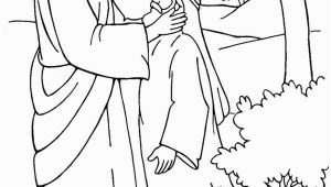 Jesus Heals the Deaf Man Coloring Page Jesus Healing Deaf Man is Miracles Of Jesus Coloring Page