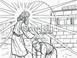 Jesus Heals the Leper Coloring Page Jesus Heals 10 Lepers Coloring Page Beautiful Coloring Pages Luke 16