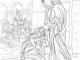 Jesus Heals the Leper Coloring Page Jesus Heals Coloring Page Inspirational Beautiful Jesus Heals 10