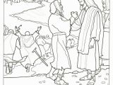 Jesus Heals the Leper Coloring Page Ten Lepers Coloring Page Jesus Heals 10 Lepers Coloring Page Awesome