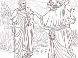 Jesus Heals the Official S son Coloring Page Jesus Healed the son Of the Nobleman Coloring Page