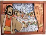 Jesus In Heaven Coloring Page A Meal with Jesus In Heaven 3d Picture