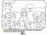 Jesus is Alive Coloring Page Jesus Appears to His Disciples Bible Coloring Pages