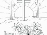 Jesus is Alive Coloring Page Jesus Resurrection Coloring Pages Beautiful Jesus Resurrection
