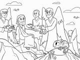 Jesus is Tempted Coloring Page Bible App for Kids Parent Resources