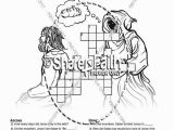 Jesus is Tempted Coloring Page Jesus Temptation Coloring Page Sunday School Crossword Puzzles and
