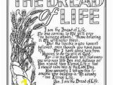 Jesus is the Bread Of Life Coloring Page 179 Best Faith Images