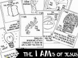Jesus is the Bread Of Life Coloring Page the I Am S Of Jesus Printable Digital Download Hand Drawn Scripture 5×7 Cards Coloring Bible Templates Bookmark Instant Names