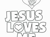 Jesus Loves Me Coloring Page 13 Inspirational Jesus Loves You Coloring Page S