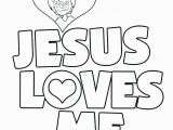 Jesus Loves Me Coloring Page for toddlers Jesus Loves Me Coloring Page Jesus Loves the Little Children