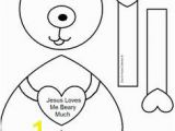 Jesus Loves Me Coloring Page Free 38 Best Free Valentine Template Pattern Cutouts Images On Pinterest