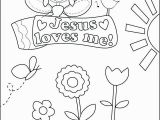 Jesus Loves Me Coloring Page Free July 2018
