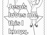 Jesus Loves Me Coloring Page Jesus Loves Me Coloring Page Cool Coloring Pages
